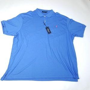 Polo Ralph Lauren Polo Shirt Interlock Blue 4XL